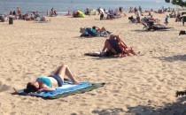 Babie lato na plaży
