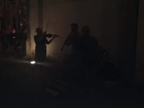 Nocne muzykowanie w Zielonej Bramie