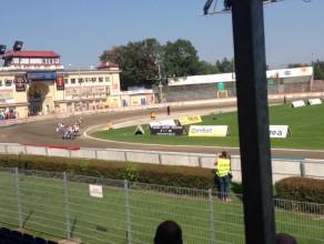 Drugi wyścig żużlowego meczu Wybrzeże - Lokomotiv