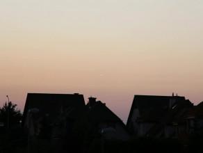 Meteor widoczny na zachód od Gdańska