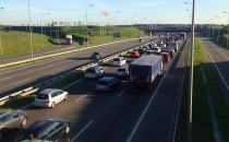 Korek do autostrady na Węźle Karczemki