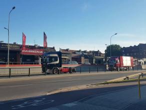 Kawalkada ciężarówek na Hynka