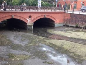 Znowu nie ma wody w Kanale Raduni