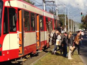 Awaria tramwaju na Strzyży