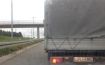 Kierowca blokuje Trasę W-Z