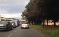 Stoją dwa pasy do jazdy na WZ z Podwala