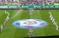 Cheerleaders Baltica na meczu Lechia Gdańsk - Ruch Chorzów