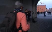 Muzyka w Zielonej Bramie.