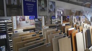 IKA-KOLOR / nowy salon Gdynia - Podłogi, drzwi, tapety, sztukateria