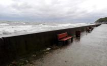 Na Bulwarze w Gdyni troszkę wieje :)