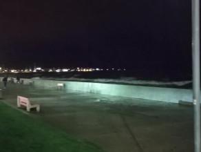 Huragan na Zatoce Gdynia Bulwar