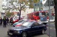 Akcja policji i straży pożarnej w Gdyni