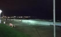 Huragan na Zatoce Gdynia Bulwar Nadmorski...