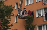 Straż pożarna zabrała 200-kilogramowego pacjenta
