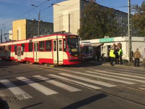 Tramwaj potrącił kobietę na Stogach