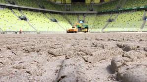 Wymiana murawy na Stadionie Energa Gdańsk