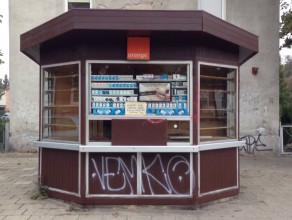 Opuszczony kiosk we Wrzeszczu