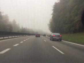 Mgła na obwodnicy