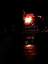 Pożar kamienicy przy ul Kurzej na Dolnym Mieście