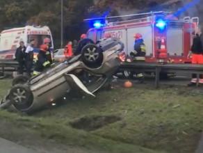 Wypadek na obwodnicy okolice Osowej