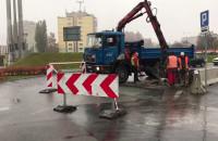 Kończą się prace przy łataniu dziury przy ECS