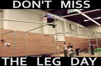 DON'T MISS THE LEG DAY - OLEK KONKOL