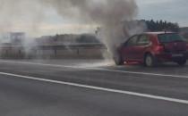 Pożar samochodu na obwodnicy w rejonie...