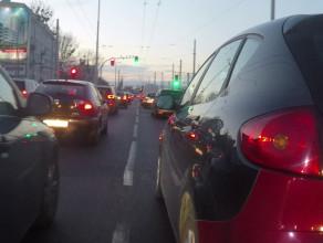 Zakorkowany wyjazd z centrum Gdyni