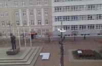 Opady śniegu dotarły do Gdyni