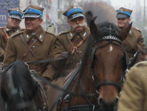 Barwna parada Niepodległości w Gdańsku