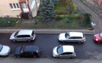 Ulice na Grabówku zakorkowane