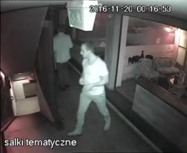 Kradzież w klubie Bunkier