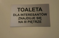 Toalety w gdańskim sądzie