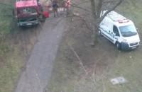 Robotnicy od kilku godzin próbują uporać się z awarią