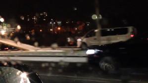Rozbity bus - ofiara śnieżycy