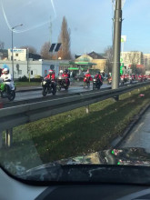 Mikołaje w Sopocie na al. Niepodległości w Sopocie