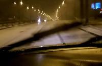 Opady śniegu w Gdyni