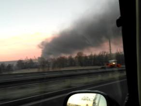 Dym nad Gdańskiem
