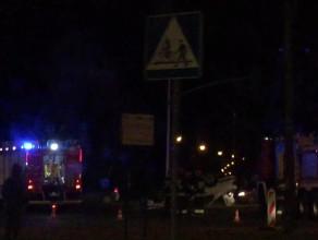 Wypadek na skrzyżowaniu ul. Obrońców Wybrzeża