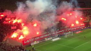 Race na meczu Lechia Gdańsk - Śląsk Wrocław