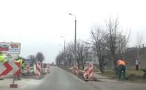 Roboty drogowe na Kartuskiej