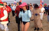 Noworoczna kąpiel morsów 2017