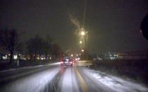 Opady śniegu w Kowalach
