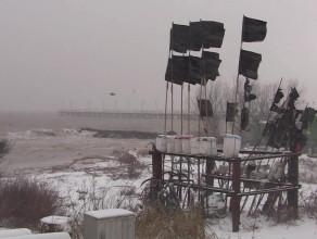 Orłowo: sztorm - 5 styczeń 2017
