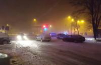 Na Gałczyńskiego w Brzeźnie kierowca porzucił auto