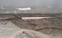 Podmyty deptak na Westerplatte