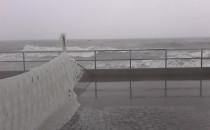 Sytuacja na Westerplatte - uszkodzenia...