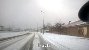 Ulice Gdańska między godz. 11 i 13