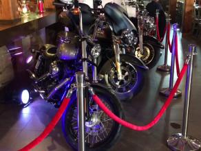 Harleye zaparkowały w Brovarni