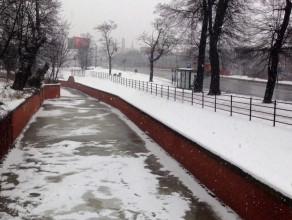 Lód w Kanale Raduni